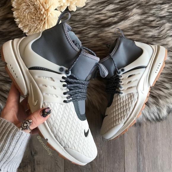 Nike Chaussures Nwt Air Presto Mid Utility Premium Poshmark